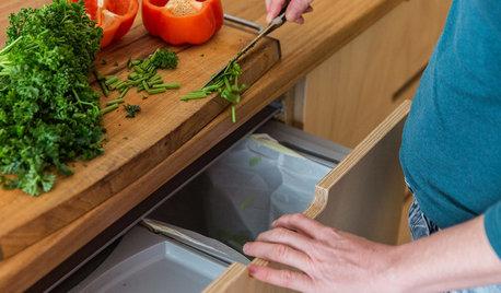 インテリアになじませて。キッチンのゴミ箱8つのアイデア