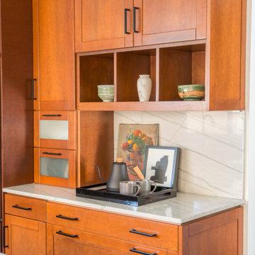 Sustainably sourced Modern Zen kitchen