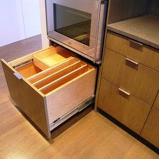 Modern Kitchen by Master Woodworks inc