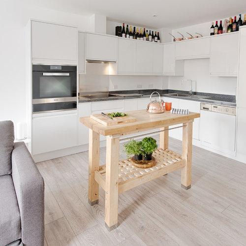 Small Kitchen Design Houzz: 75 Trendy Contemporary Kitchen Design Ideas, Pictures