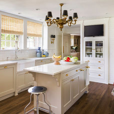 Transitional Kitchen by Cornerstone Construction Services LLC