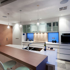 Contemporary Kitchen by Yael K Designs
