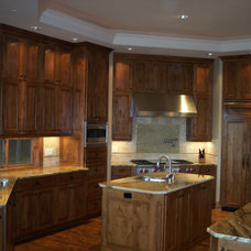Traditional Kitchen by Skreen Construction, Inc.