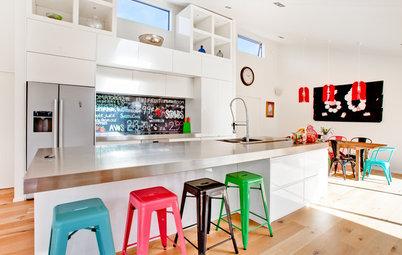 Aménagez votre îlot de cuisine pour accueillir toute la famille