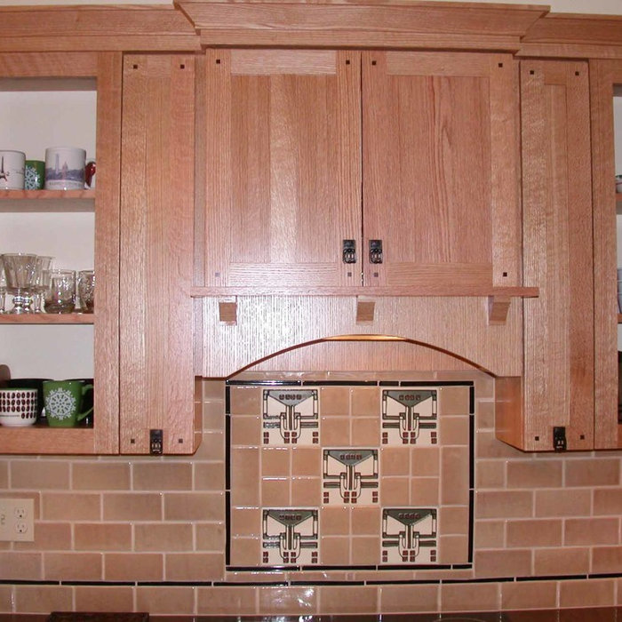 Sweet Craftsman Kitchen