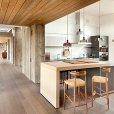 Contemporary Kitchen by Montana Reclaimed Lumber Co.