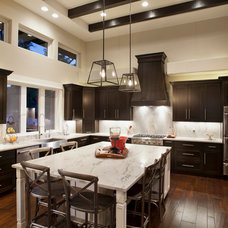 Contemporary Kitchen by Travis Creek Homes, LLC