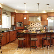 Traditional Kitchen by M.J. Coates Custom Homes