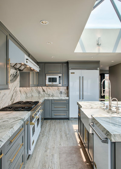 Transitional Kitchen by Surfaces USA
