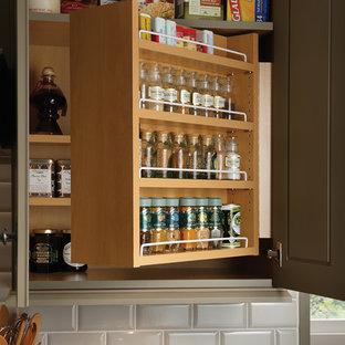 Kitchen Cabinet Condiment Organizer Houzz