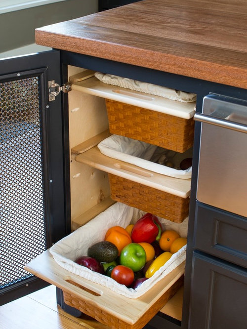 vegetable storage houzz