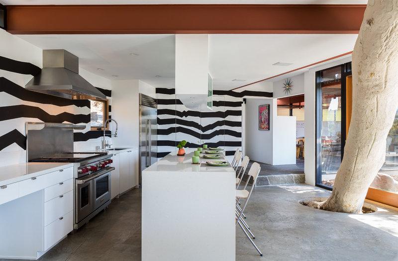 Contemporary Kitchen by ANX / Aaron Neubert Architects
