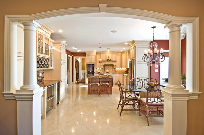 Traditional Kitchen by Kaleidoscope Color Consulting