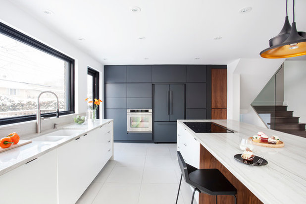 Contemporary Kitchen by catlin stothers design