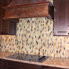 Transitional Kitchen by Gina McMurtrey Interiors