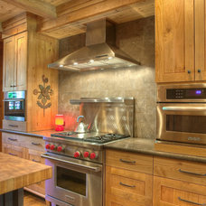 traditional kitchen by Lloyd's Custom Woodwork, Inc.