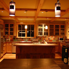Traditional Kitchen by Gregory Dedona Architect