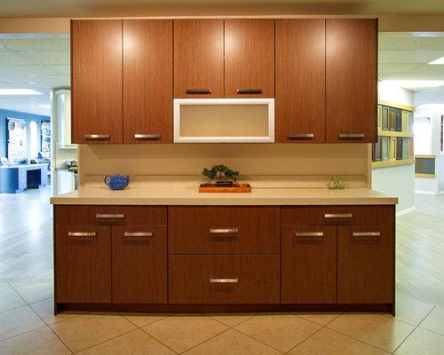 Small zebrano kitchen design ideas renovations photos for Kitchen ideas zebrano