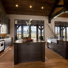 Rustic Kitchen by Phillips Development