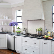 Traditional Kitchen by Tamara Mack Design
