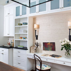 Traditional Kitchen by Tamara Mack Design