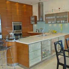 Contemporary Kitchen by Barbara Krai Interior Design