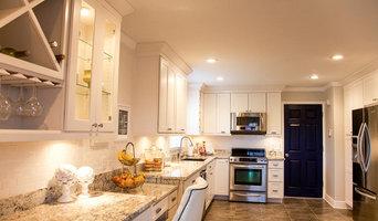 Tampa Coastal White Kitchen