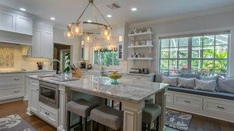 Tampa White Kitchen Remodel