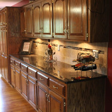 Traditional Kitchen by Midwest Marble & Granite