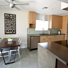 Eclectic Kitchen by Chris Wilhite Design