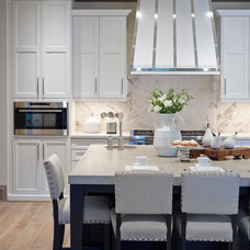 Transitional Kitchen by Design House, Inc