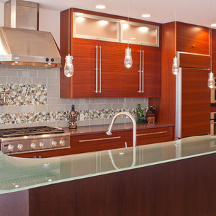 kitchen cabinets and counter tops horizontal grain cabinetry houzz 7988