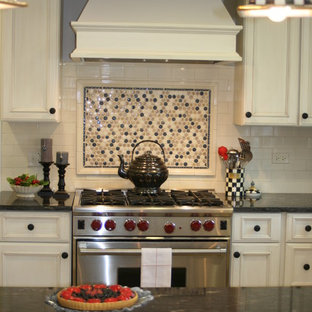 Penny Tile Backsplash | Houzz