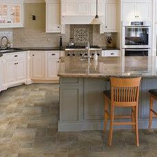Traditional Kitchen by Tarkett Residential (N. America)