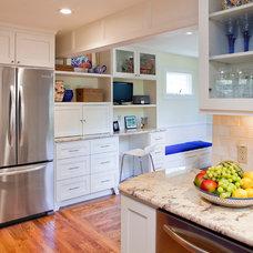 Traditional Kitchen by Gwen Klein Interior Design