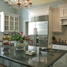 Traditional Kitchen by Go Green Construction, Inc.