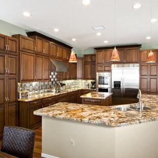 Copper Granite Countertops Houzz