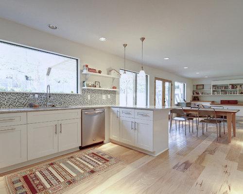 Ideas para cocinas fotos de cocinas ecl cticas con - Cocinas con mosaico ...