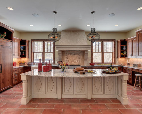 Kitchen island design houzz for Kitchen designs island