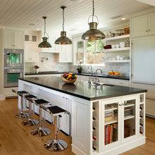 Kitchen White Cabinets Soapstone