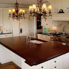 Traditional Kitchen by Brooks Custom