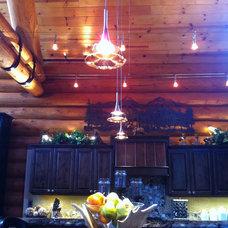 Modern Kitchen by Stumptown Electrical & Lighting Design