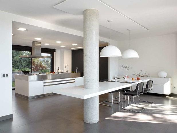 7 ideas para integrar con xito un pilar en la decoraci n - Como decorar una columna en el salon ...