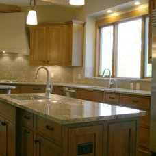 Craftsman Kitchen by John Hill Construction