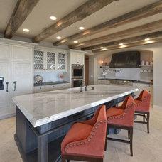 Mediterranean Kitchen by Sterling-Huddleson Architecture