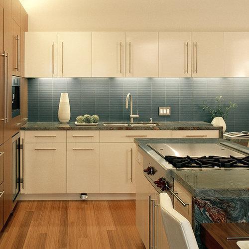 Kitchen Countertops San Francisco: Horizontal Backsplash