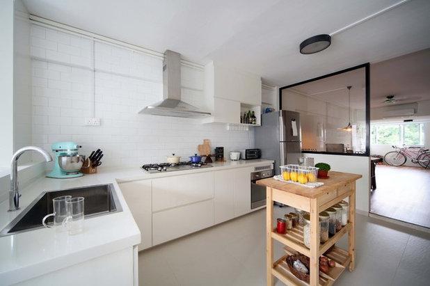 12 Design Ideas For Hdb Kitchens Houzz
