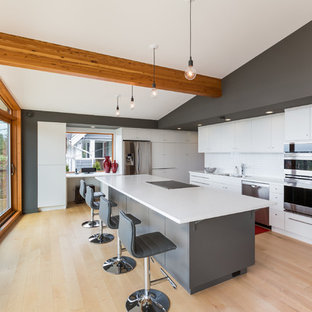 Gray Kitchen Island | Houzz