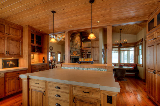 Houzz Tour Rugged Charm For A Washington Farmhouse