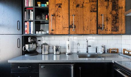 Tendance : Les façades de cuisine en bois massif se réinventent